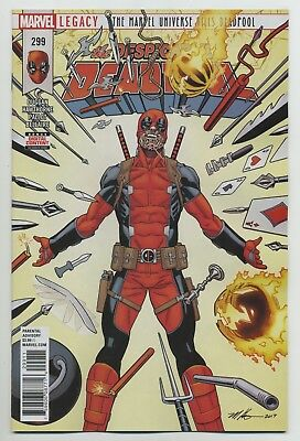 DESPICABLE DEADPOOL #299 MARVEL comics NM 2018 Gerry Duggan Mike Hawthorne