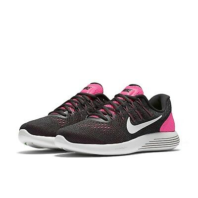 31f8e600b333 ... wholesale womens nike lunarglide 8 running shoes new pink anthracite  grey white msrp 120 c18d1 4a76e