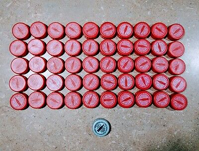 50 Coca-Cola Coke Bottle Caps - UNUSED CODES!
