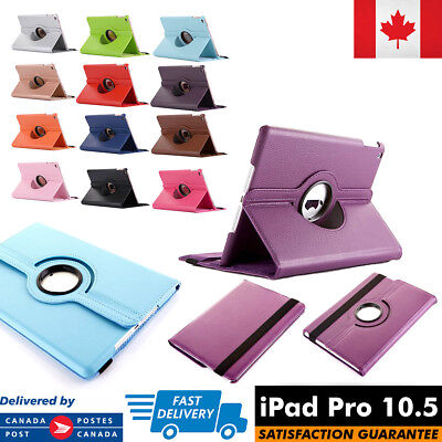 """For Apple iPad Pro 10.5 Inch Case Cover Folio 360 Degree Rotating 10.5"""" A1701"""