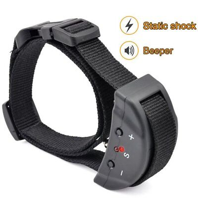 NEW Dog Training Collar Electric Anti Bark No Barking Tone Shock Training Collar