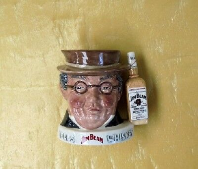 Small  Royal Doulton Jim Beam Whiskey Jug Excellent Condition Limited Edition