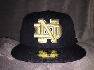Notre Dame Fighting Irish New Era NCAA College Basic 59FIFTY Fitted Cap Size 7