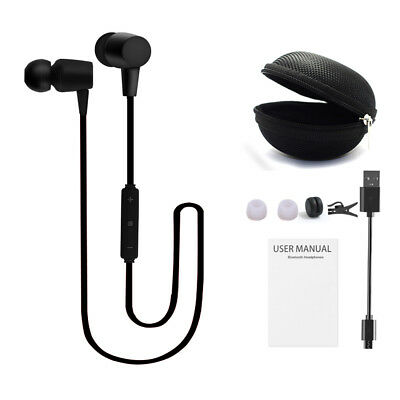 Wireless Bluetooth Headset Sport Stereo Earphones Headphones Earbuds With Mic