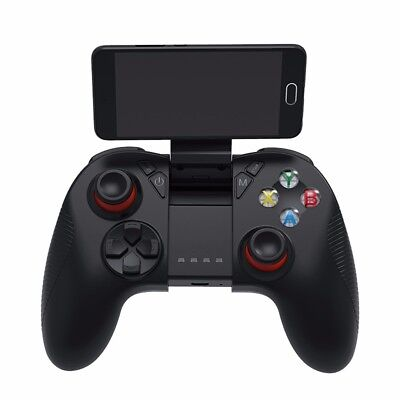 Wireless Bluetooth Game Controller Gamepad Halter Fur Android IOS Handy PC
