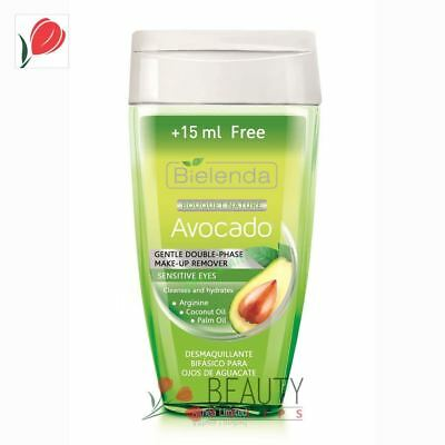 Bielenda Avocado Gentle Double-Phase Eye Make-up Remover 125ml + 15 Free
