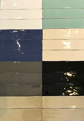 Genuine Designer Porcelain Subway Feature / Wall Tiles SPANISH MADE