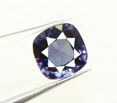 4.90Ct EGL Certified Natural Magnificent Color Changing Alexandrite Gems AR134