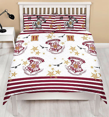 Harry Potter Moldus Set Housse De Couette Simple Rideaux Assortis