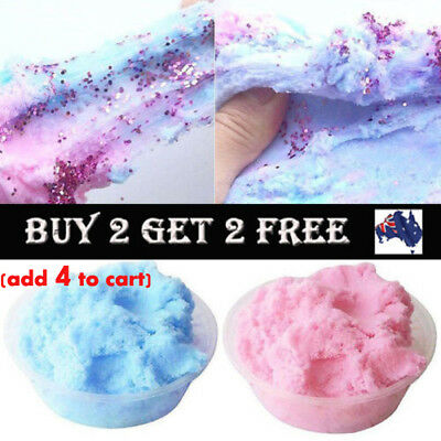 Fairy Floss Cloud Slime Reduced Pressure Mud Stress Relief Kids Clay Toy Gifts