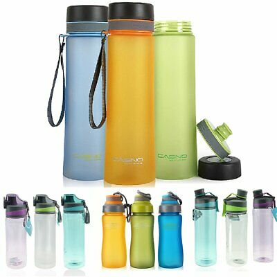 0.6-1L LeakProof Drinking Water Bottle For Cycling Travel Gym Outdoor With Brush