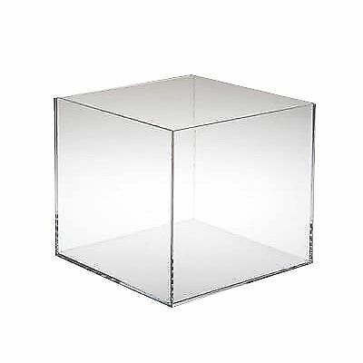 "Acrylic Display Box 6.5"" x 6.5"" x 4"""