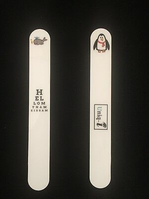 Fixation Stick - Optometry/Orthoptics - Whale/Penguin Design