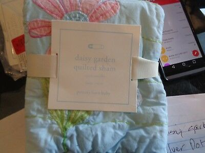 Pottery Barn Kids Daisy Garden small sham crib   New tag