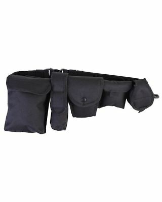 Kombat Security Patrol Belt System Guard Prison Quick Release Belt With Pouches