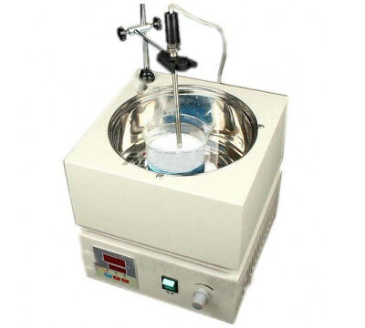 CE Digital Heat-gathering Magnetic Stirrer & Water Bath 300°C Thermostat  fxd