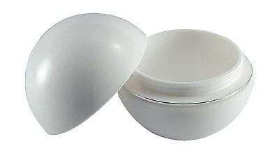 50ml sample cosmetic pots plastic empty jars cream containers with lids for Pack