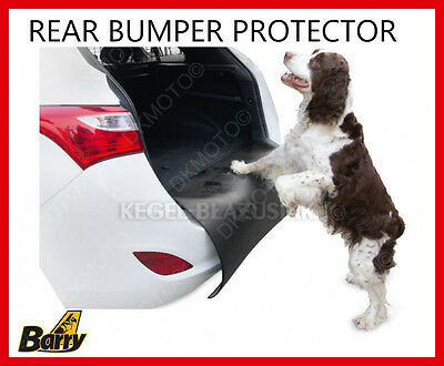 Dog Car 4x4 SUV Rear Bumper Paint Protector Cover
