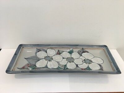 Highland Stoneware Long Rectangle Plate/Plaque.