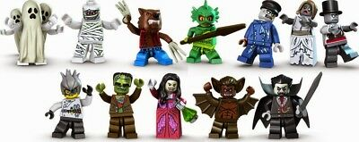 Marvel Movie Horror Film Mini Figures Jason,Freddy Chucky Hero Toy story lego