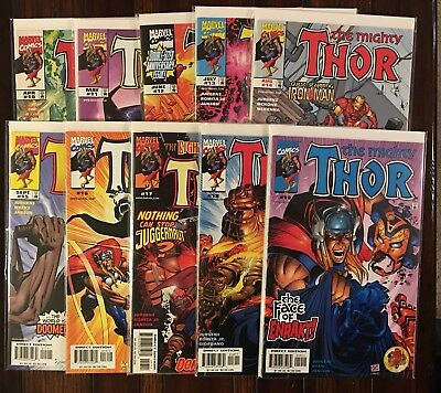 MARVEL THE MIGHTY THOR (vol 2 1998) 10 11 12 13 14 15 16 17 18 And 19 VF/NM