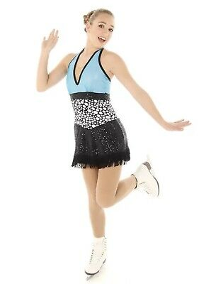 Brand New Adult Large Ice Skating Dress Baton Twirling Costume