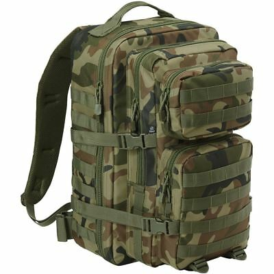 Brandit Us Cooper 36 Litre Molle Bag Rucksack Army Style Military