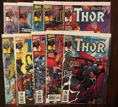 MARVEL THE MIGHTY THOR (vol 2 1998) 20 21 22 23 24 25 26 27 28 And 29 VF/NM