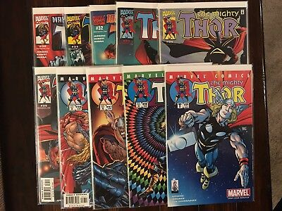 MARVEL THE MIGHTY THOR (vol 2 1998) 30 31 32 33 34 35 36 37 38 And 39 VF/NM