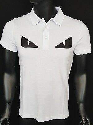 Shirt 100Soft Tag New Fendi T Made Italy In Polo Casual GzVqSUpM