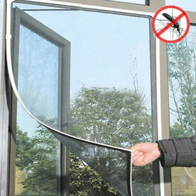 Window Mesh Insect Screen Net Bug Fly Wasp Mosquito Door Curtain Large Cover HOT