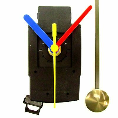 5 Pack Quartz Complete Clock Pendulum Drive Unit Movement Mechanism Plastic Hand