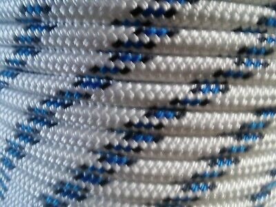 """1/2"""" x 100 ft. Double Braid~Yacht Braid polyester Rope. Valsail Line.US Made"""
