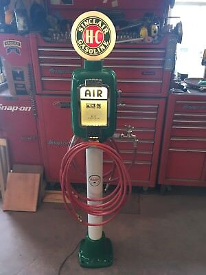 Vintage Eco  Air Meter 98 Gas Oil HC- Sinclair Restored  With Globe /Water