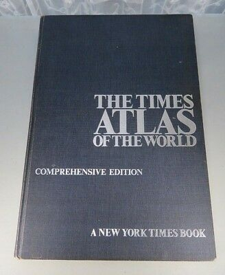 The Times Comprehensive Atlas of the World Great Maps LARGE permission of Queen