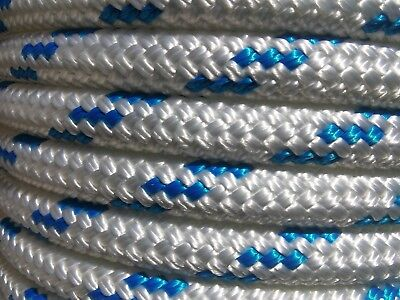 """9/16"""" x 90 ft.Premium Double Braid Yacht Braid Polyester Rope.Made in the U.S.A"""