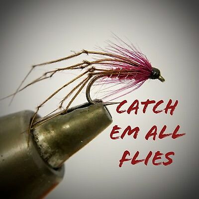 Barbless Daddies x 8  size 10 BARBLESS Code 491 Trout Flies