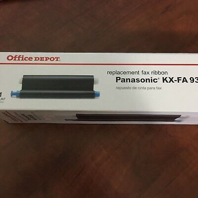 Office Depot Panasonic Ribbon Replacement KX-FA 93 New in package SRH