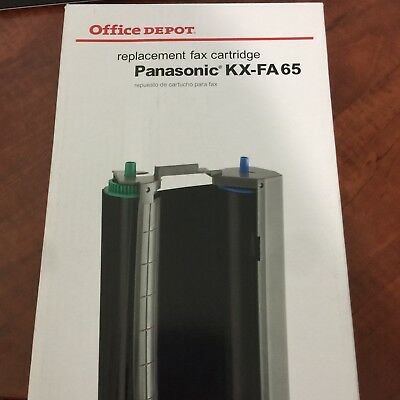 Office Depot Panasonic KX-FA 65 Fax replacement Cartridge 1 count NIB SRH