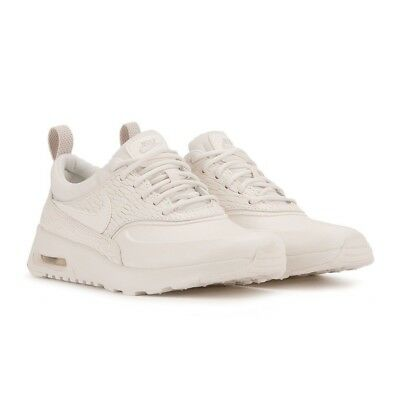 detailed look 83a03 c549d Women s Nike Air Max Thea Premium Leather Running Shoes NEW Oatmeal, MSRP   130