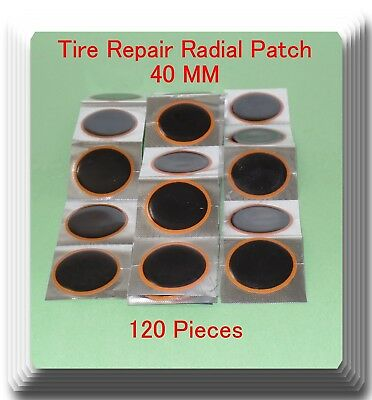 120 Pieces TP-040 Round Radial Repair Tire Patch Small Size 40MM High Quality