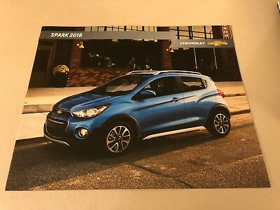 2018 CHEVY SPARK 12-page Original Sales Brochure