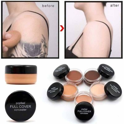 Invisible Full Concealer Cover Makeup Body Tattoo Shadow Face Foundation Cream
