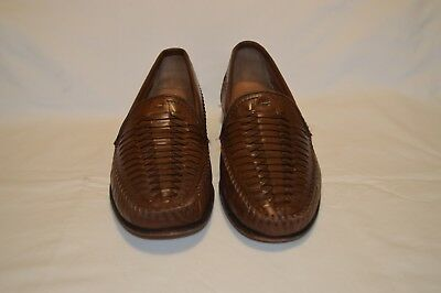 FLORSHEIM BROWN LEATHER UPPER MADE IN INDIA SIZE 8.5D