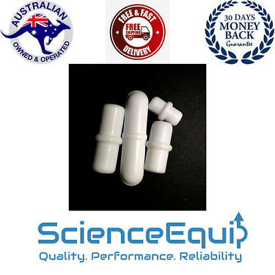 PTFE Magnetic Stir Bar, Stirrer Follower with Pivot, 4 Sizes 2 Pcs in a Pack