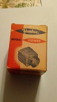 Vintage Yankee Imperial VIEWER SLIDE VIEWER IN BOX V-35 USA