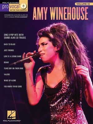 Amy Winehouse - Pro Vocal Women's Edition Volume 55 - Music Book with CD