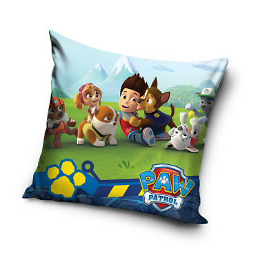 PAW PATROL Chase Skye Marshall Team Ryder cushion cover 40x40cm pillow cover