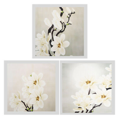 ABSTRACT WHITE Flower Wall Decorative Painting Oil Art Painting ...