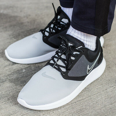 outlet store f8310 1aed8 NIKE LUNARSOLO sneaker chaussures hommes sport loisir noir blanc AA4079-005